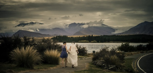 Leo's big day @ Lake Tekapo